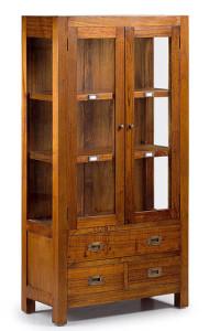 Üveges szekrény