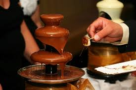 A csokoládé szökőkút pompás ajándék