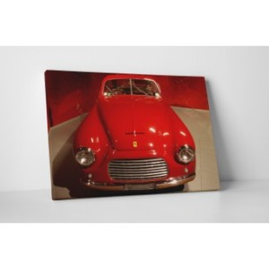 Vászonkép piros Ferrariról