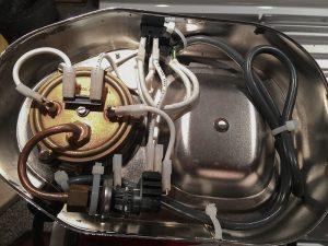 Egyszerűen javítható bojlerek